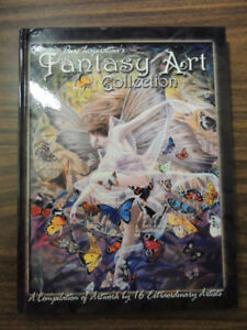 Fantasy Art Collection New Glossy Art Book Kinuko Craft