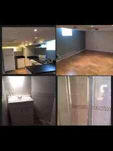 Modern 1 bedroom basement suite in the Avenues
