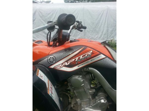 Used 2007 Yamaha Raptor 700R Special Edition