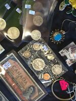 Queen's Collectables Coins Bi-Weekly MaxSold Auction