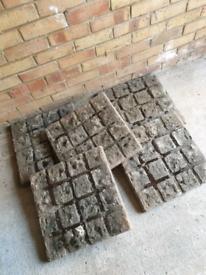 Stone Patio Slabs x 5