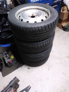 Nexan CP641 summer tires on rims