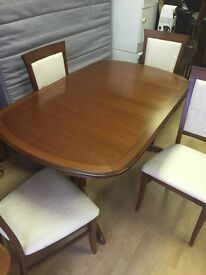 Dining Room Set inc. Extending Dining Table & Chairs, Wall Unit & Small Unit