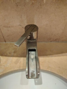 Price Pfister waterfall bathroom faucet
