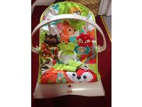 Fisher price Baby bouncer and vibrating chair