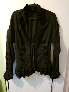Steampunk Shirt Jacket