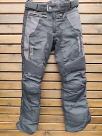 "Motorbike trousers(32""waist, 32""leg)"
