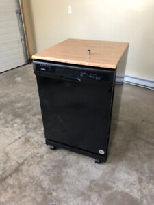 "Whirlpool 24"" Portable Dishwasher - Less than a year old!"