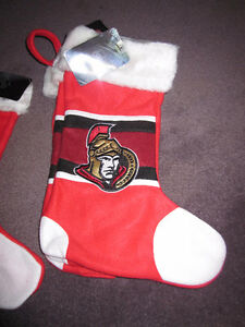 Christmas Stockings - Ottawa Senators - official NHL.com, NEW Kitchener / Waterloo Kitchener Area image 2