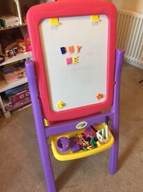 Child's Crayola Easel with accessories