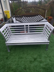 Regency Style Garden Bench