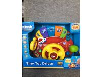 New in Box Vtech Tiny Tot Driver