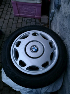 Pirelli Asimmetrico Winter tires on bmw rims