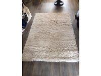Ikea cream rug
