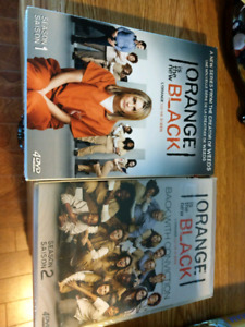 New & sealed orange is the new black (seasons 1 and 2)