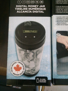Electronic Coin Jar for cars - Canadian version