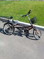 Vélo électrique EVOX- Demi position allongée....rabais 60%!