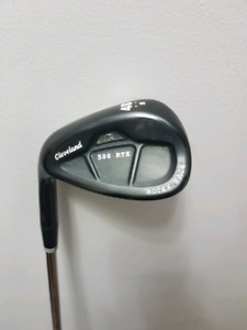 Left hand Cleveland 588 RTX 48 degree wedge