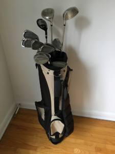 Mens Golf Clubs - Complete 13 club set + bag