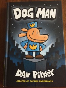 Dog Man hardcover children comic book