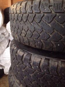 195/65R/15 Winter Tires on Rims $325 OBO