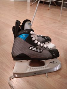 Firefly rollerblades and Bauer Supreme 25 skates