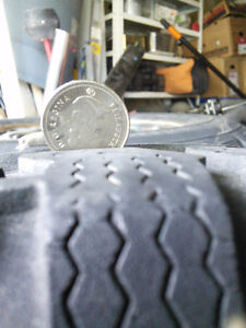 4   215/65/16 winter tires with steel rims