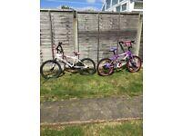 For sale bmx kids bikes