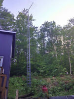 tv antenna tower