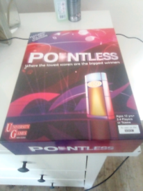 Pointless. TV game show game