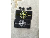 Stone island badges replacement buttons for jacket jeans jumpers hats