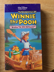 Winnie the Pooh VHS  - Pooh to the Rescue NEW