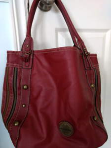 Leather Franc Sarto purse/carry all bag