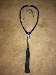Head Ti Carbon 190 Pyramid Tech Graphite Squash Raquet