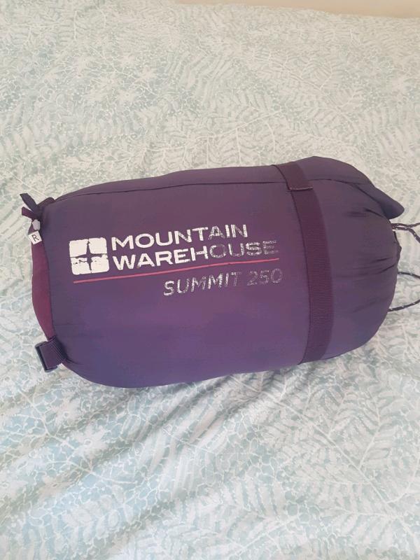 new arrival 603e3 b9c67 Mountain warehouse summit 250 sleeping bag | in Southampton, Hampshire |  Gumtree