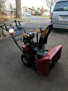 Soufleuse TORO, power max 826oe, 250cc
