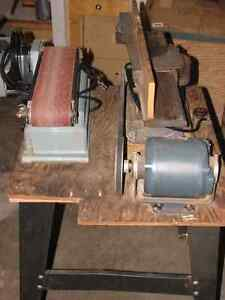 "4""Belt Sander + 4"" Jointer Planer"