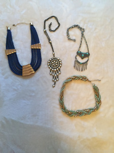 Variety of necklaces
