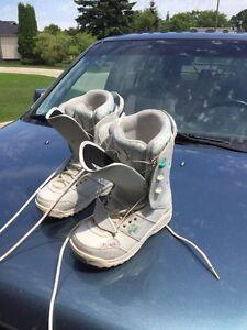 Women's K2_MINK Snowboard boots  Size 8.5