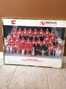 Calgary Flames 88/89 Stanley Cup Team Photo