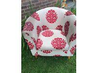 Tub/bucket chair armchair
