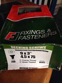 75mm Decking screws
