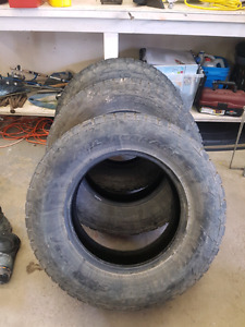 285/65R18 Nitto Terra Grappler's set of 3 - 50% Tread