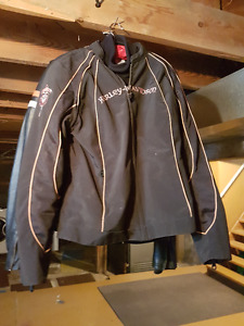 Harley Davidson Womans Spring Coat and Insert REDUCED PRICE!