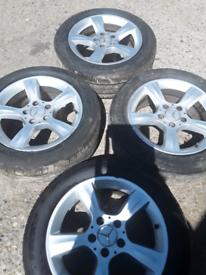 "16"" Mercedes C Class W203 alloy wheels (427)"
