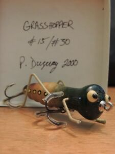 Handcrafted Wooden Collectible Fishing Lures