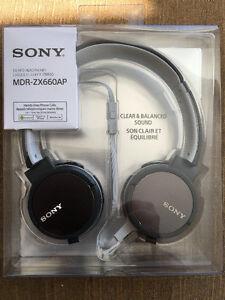 SONY On-Ear Headphones MDR-ZX660AP