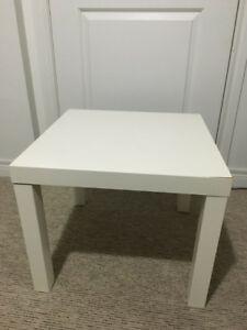IKEA USED Lack Side Table, White