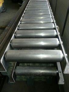 Heavy Duty Roller Conveyor Lanes - NEW