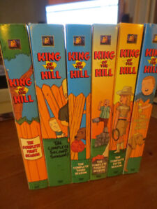 -- DVD King Of The Hill Season 1 to 6 --